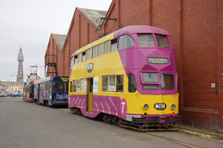 TRAM 710 EMBARKING ON A NEW LIFE
