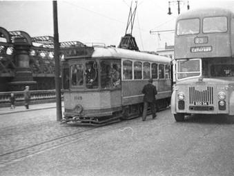Sixteen New Single Deck Trams 1 - 16