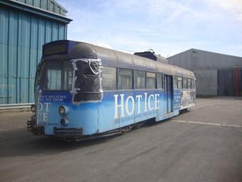 FHLT - Trams in Care   -   Brush Railcoach 284 (621)