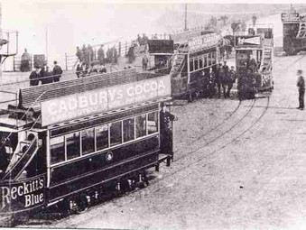 British tramways - foreign trams