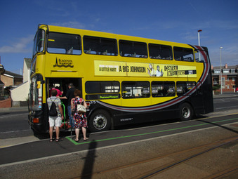 Lets Hear It For Blackpool's Buses