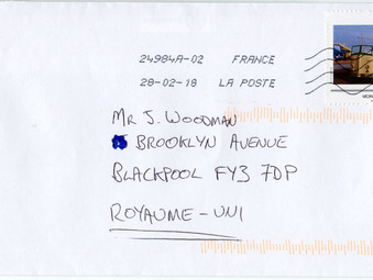 La Poste  - Vive les Bateau de Blackpool
