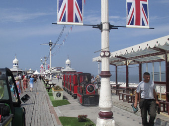 Blackpool's North Pier Shines Forth