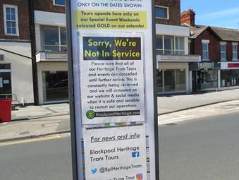 July 19 2020   Trams Return (in Blackpool)