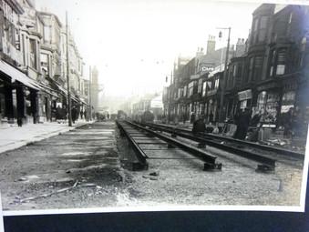 Track Laying - Talbot Road