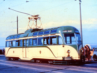 All Electric Blackpool Transport