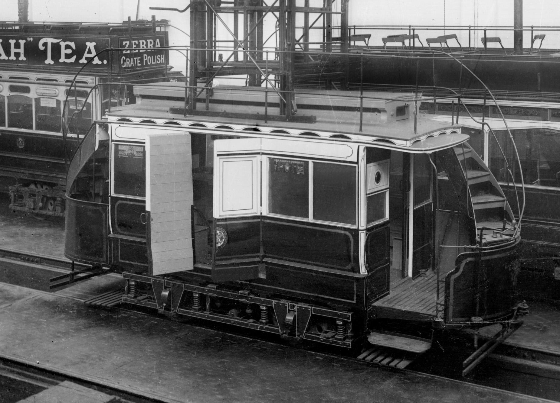 Works Car To Heritage Tram Number 4