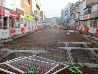 Talbot Road Tramway Progress