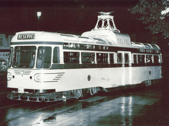 Electric Buses - in the 1940s and beyond