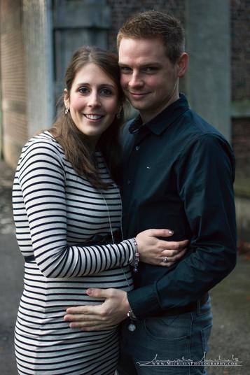 Zwangerschap shoot koppel