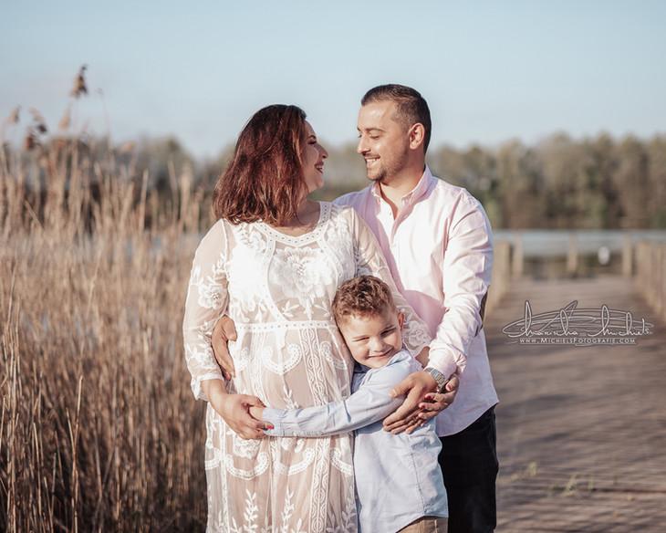 Zwangerschapsshoot gezin