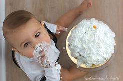 Cakesmash verjaardag