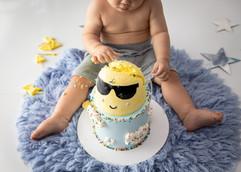 Cake smash hawaii oahu
