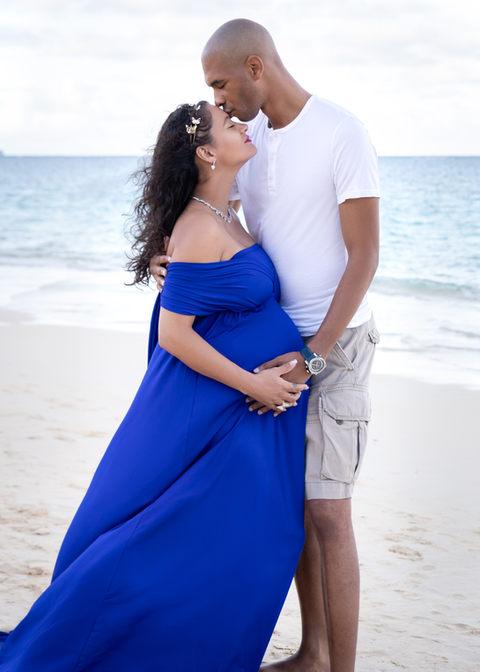 Maternity photo session Hawaii