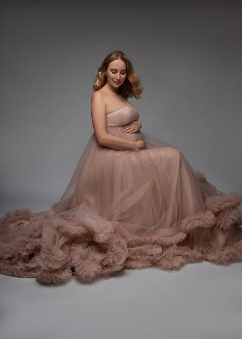 Maternity studio photography Hawaii