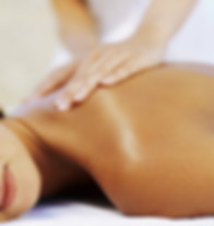 Person getting a Relaxation Massage