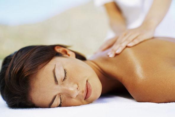 massage, avslappning