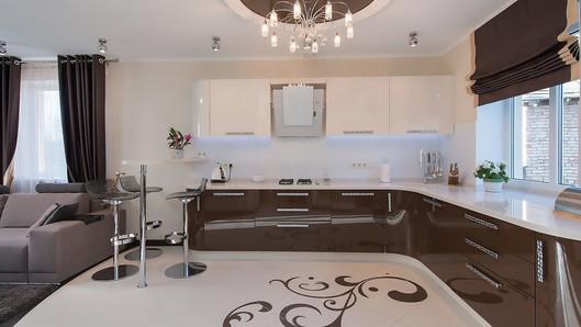 Разработка дизайна интерьеров для Кухни Мария