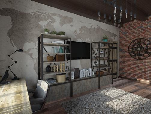 Разработка дизайна интерьеров для каталога 2019 Lamarty Сыктавкарский фанерный завод