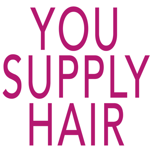 Wig-Making Fee, YOU SUPPLY HAIR!