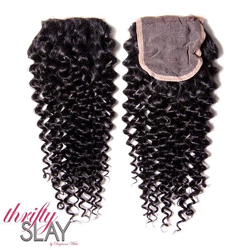 Curly 4x4 Closure | 100% Virgin Hair