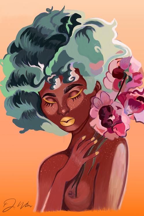 Vibrant Woman