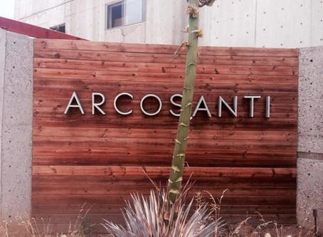 Arcosanti- City of man and sun