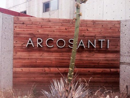 Arcosanti- City of man and sun
