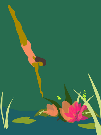 Botanical Diver