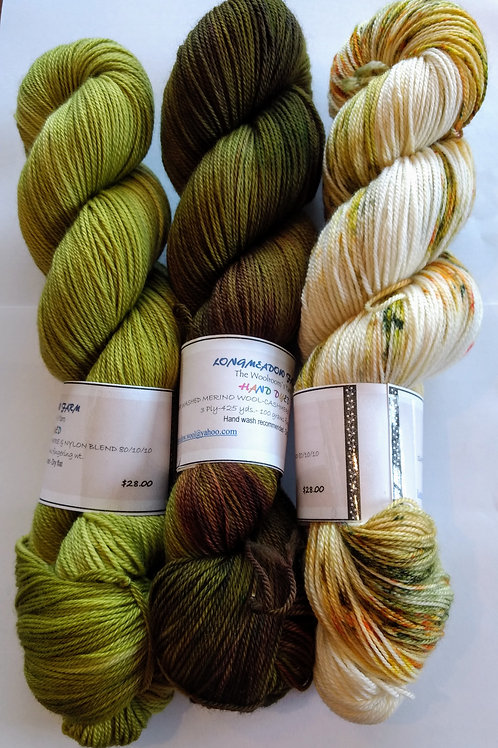 WCN - Our Hand Dyed Sets of 3   #05