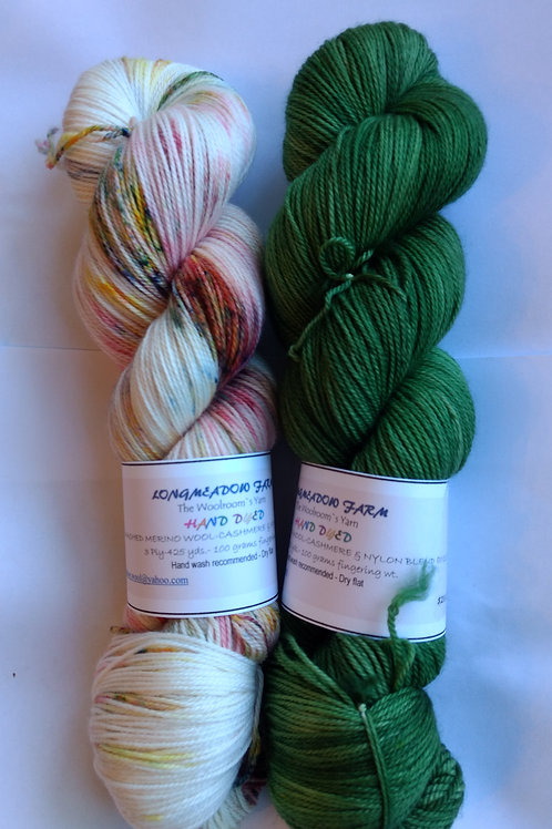 Our Hand Dyed Sets of TWO #15