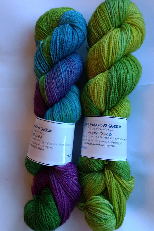 Our Hand Dyed Sets of TWO #13