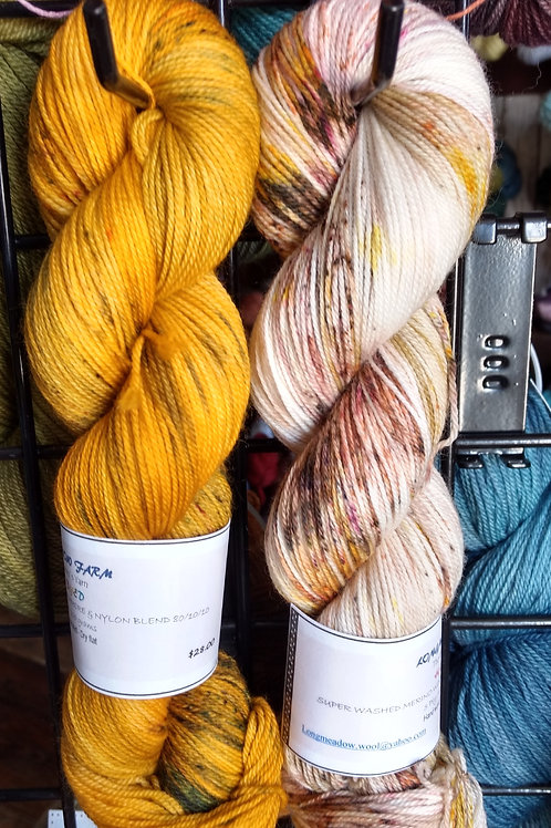 Our Hand Dyed Sets of TWO #21