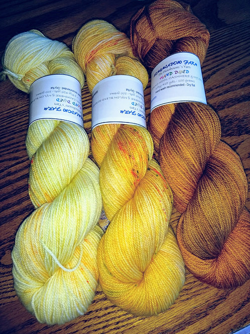 WCN - Our Hand Dyed Sets of 3   #02