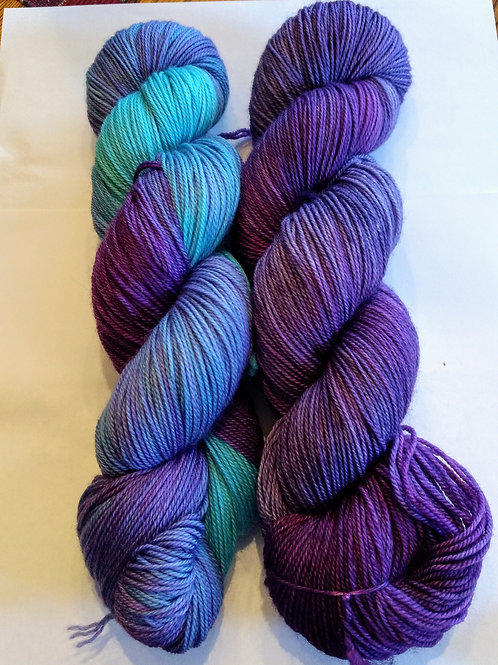 Our Hand Dyed Sets of TWO # 17