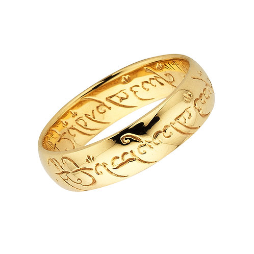 The One Ring- 9ct SOLID GOLD