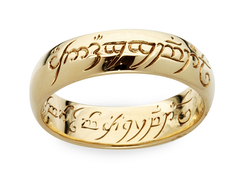 The One Ring- GOLD PLATED