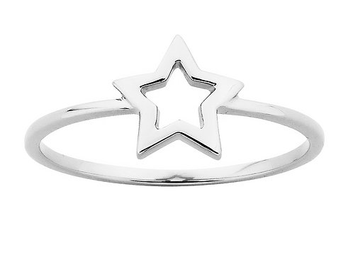 Mini Star Ring- SILVER or 9ct GOLD