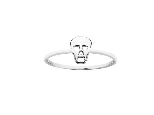 Mini Skull Ring- SILVER or 9ct GOLD