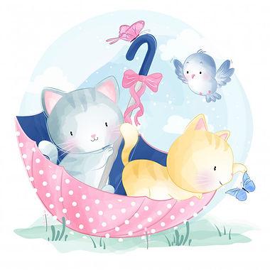 cute-kitty-sitting-in-the-umbrella_90723
