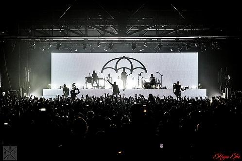 Bring Me The Horizon Sydney 2016 - Live Music Canvas Textured A3 Photo Print