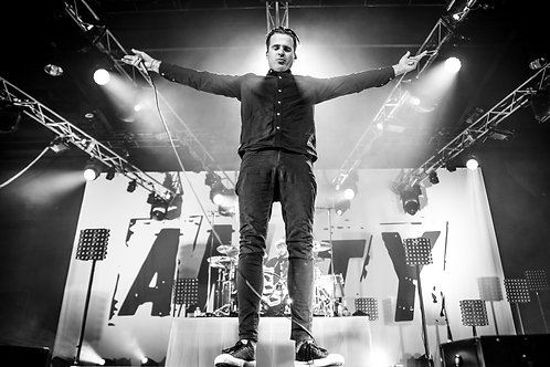 The Amity Affliction Sydney 2017 - Live Music Canvas Textured A3 Photo Print