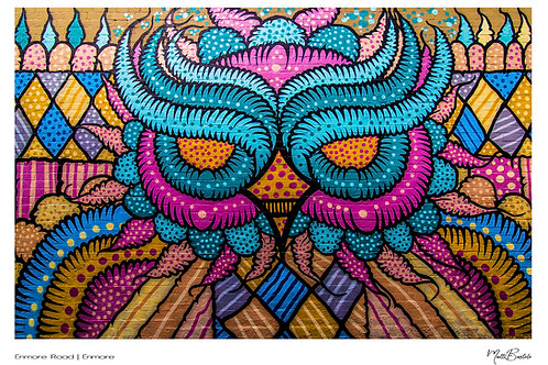 The Owl of Enmore Rd Signature Series - Canvas Textured A3 Photo Print