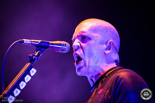 Devin Townsend Project Sydney 2018 - Live Music Canvas Textured A3 Photo Print