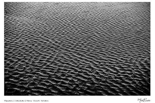 Ripples Signature Series - Canvas Textured A3 Photo Print