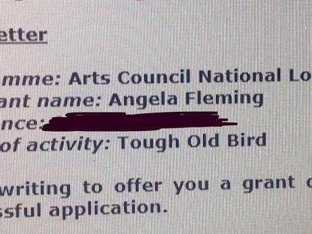TOUGH OLD BIRD IS GO!!