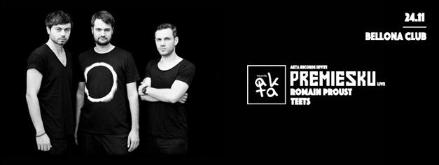 2017 : Premiesku live