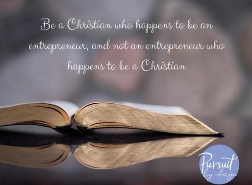 How Should Christian Entrepreneurs Behave?