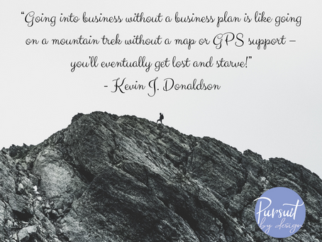 Why You Should Write That Business Plan