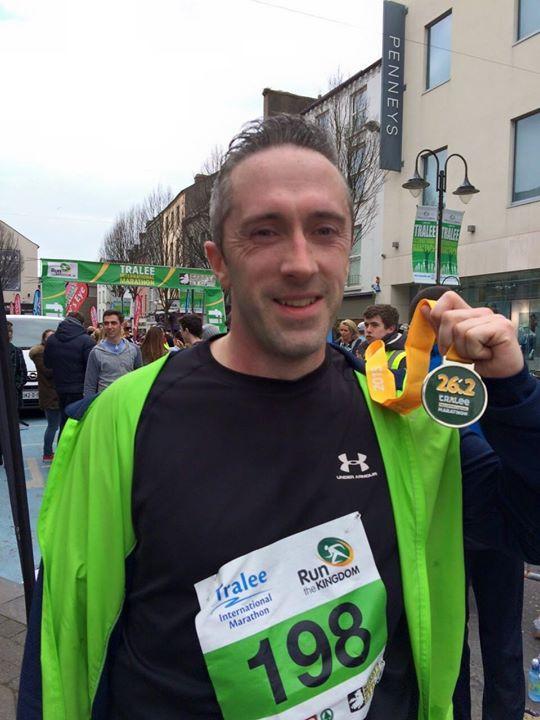Noel McCarthy will run 6 marathons in 6 days for BUMBLEance